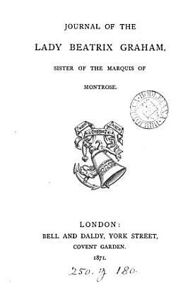 Journal of the lady Beatrix Graham  by J M F  Smith Dampier   PDF