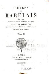 Pantagruel (Cont.) Oeuvres diverses