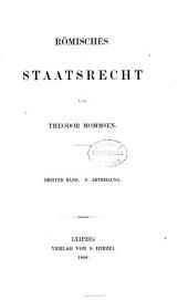 Römisches Staatsrecht: Band 5