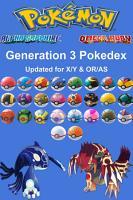 Pokemon Pokedex  Complete Generation 3 PDF