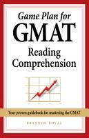 Game Plan for GMAT Reading Comprehension PDF