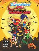 DC Super Hero Girls Halloween Coloring Book PDF