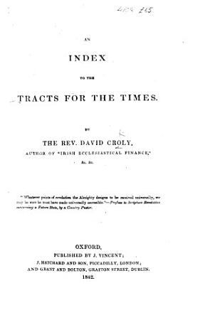 An Index to the Tracts for the Times PDF