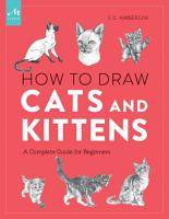How to Draw Cats and Kittens PDF