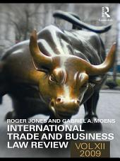 International Trade and Business Law Review:: Volume 12