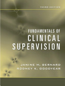 Fundamentals of Clinical Supervision PDF