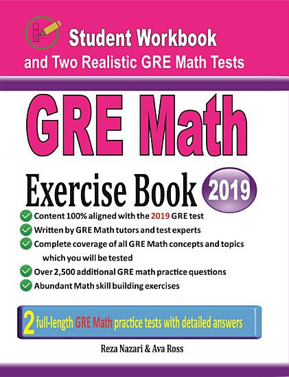 GRE Math Exercise Book PDF