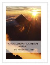 Affirmations To Affirm (Volume 9)
