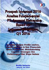 Prospek Investasi saham Asuransi Ramayana Tbk per Laporan Keuangan Q1 2016: Lengkap Profile emiten, industry analysis, Key Financials dan Ratio, Benchmarking ratio, Analisa industry & Laporan Keuangan, Perhitungan Nilai Wajar Saham & beberapa metode valuasi