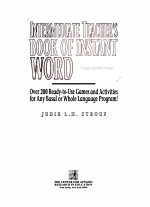 Intermediate Teacher's Book of Instant Word Games