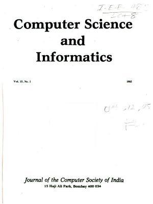 Computer Science and Informatics PDF
