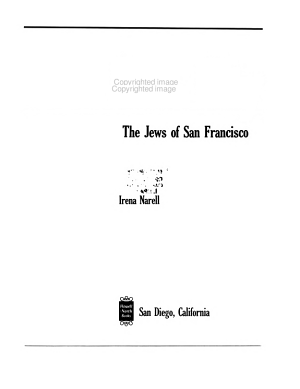 Our City  the Jews of San Francisco PDF