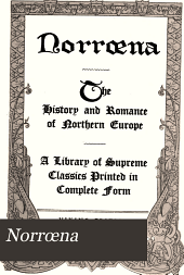 Norrœna: The History and Romance of Northern Europe, Volume 13