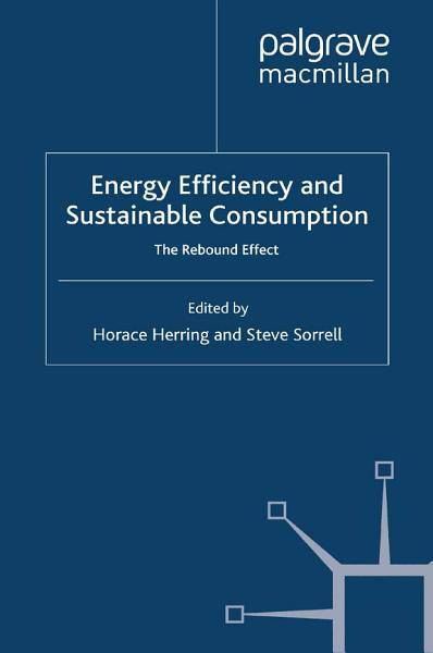 Download Energy Efficiency and Sustainable Consumption Book