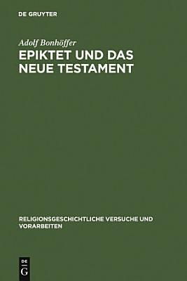 Epiktet und das Neue Testament PDF