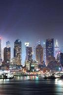 Beautiful Midnight City Scenery PDF