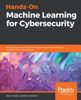 Hands On Machine Learning for Cybersecurity PDF