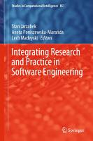 Integrating Research and Practice in Software Engineering PDF