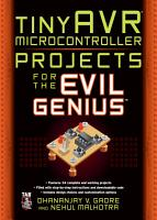 tinyAVR Microcontroller Projects for the Evil Genius PDF