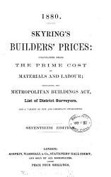 Skyring s Builders  Prices PDF