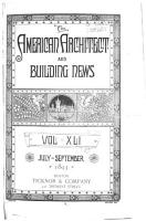 The American Architect and Building News PDF
