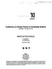 Interchi '93 Conference Proceedings