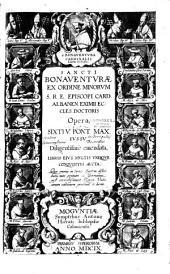 Sancti Bonaventurae Opera omnia... [ed A. Rocca]