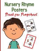 Nursery Rhymes Posters Book for Preschool