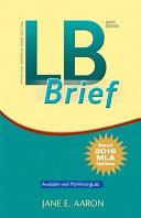 LB Brief  Untabbed Version  the Little Brown Handbook  Brief Version  MLA Update PDF