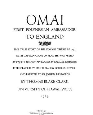 Omai, First Polynesian Ambassador to England