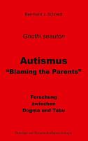 Autismus    Blaming the Parents  PDF