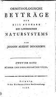 Zoologische Beytr  ge zur 13  Ausg  des Linneischen Natursystems PDF