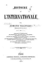 Histoire de l'Internationale
