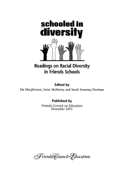 Schooled in Diversity PDF