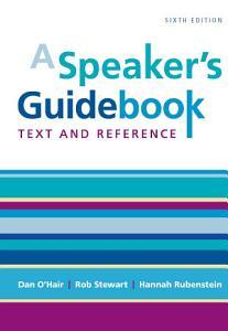 A Speaker s Guidebook Book
