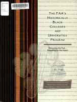 The FAA s Historically Black Colleges and Universities Program PDF