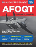 AFOQT Study Guide 2020-2021 Air Force Officer Qualifying Test Prep Book for 2020 and 2021