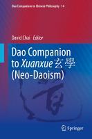 Dao Companion to Xuanxue         Neo Daoism  PDF