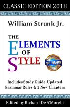 The Elements of Style  Classic Edition  2018  PDF
