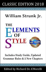 The Elements Of Style Classic Edition 2018  Book PDF
