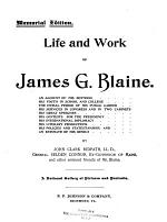 Life and Work of James G. Balin ...
