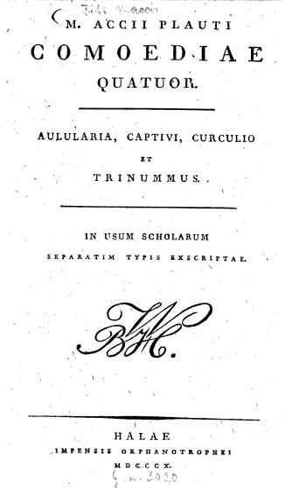 M  Accii Plauti Comoediae quatuor PDF