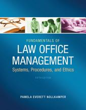 Fundamentals of Law Office Management: Edition 5