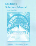 Students Solutions Manual for Calculus and Its Applications PDF