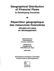 Geographical Distribution of Financial Flows to Developing Countries 2009 Disbursements  Commitments  Country Indicators PDF
