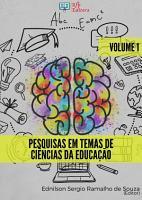 PESQUISAS EM TEMAS DE CI  NCIAS DA EDUCA    O   VOLUME 1 PDF