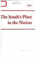 The South s Place in the Nation PDF