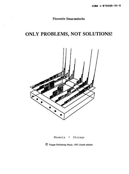 Download Only Problems  not Solutions  Book