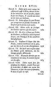Ammien Marcellin ou les dix-huit livres de son histoire qui nous sont restés: Volume1