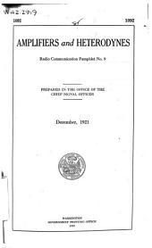 Radio Communication Pamplet: Volume 9; Volume 17; Volume 22; Volumes 25-28